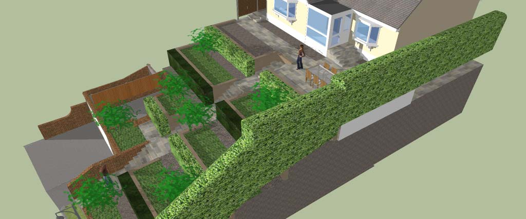 Garden Design For Steeply Sloping Sites